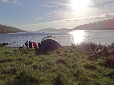 Final camp spot, Shetland