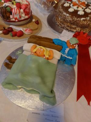 Cake competition at Vow Show, Shetland