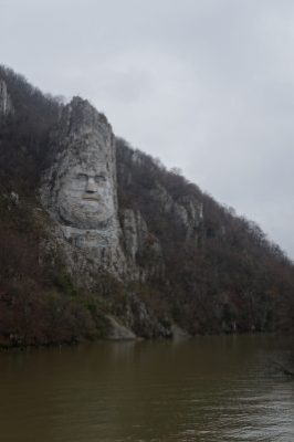 Carving of King Decebal
