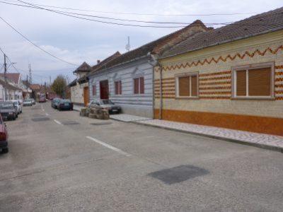Tiled houses in Moldova Veche
