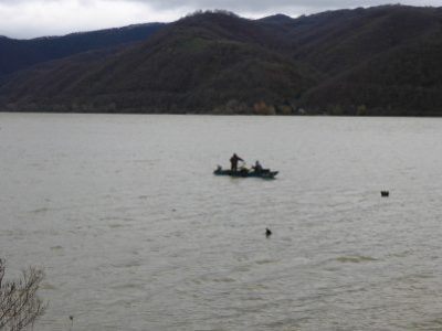 Fishermen in Iron Gates National Park