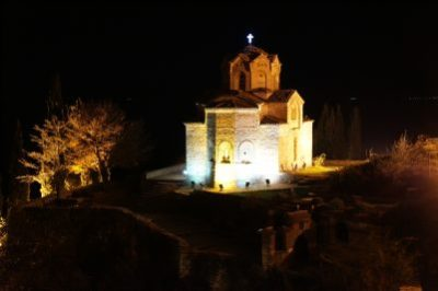 One of the many churches in Ohrid