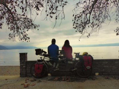 Lunchtime at Lake Ohrid