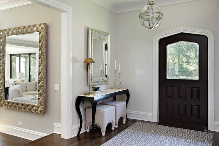 Put The Mirror On The Wall Opposite The Safe Or A Vanity With Jewelry Boxes  To Attract Riches And Ensure Long Term Abundance.