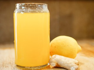 Turmeric Ginger Lemonade | SHESOMAJOR5