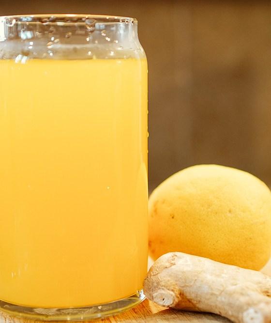 Turmeric Ginger Lemonade | SHESOMAJOR5