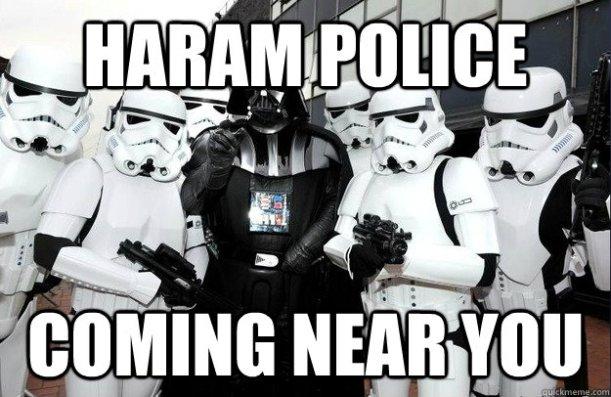 haram police