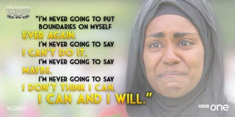 Nadiya Hussain on winning the Great British Bake Off