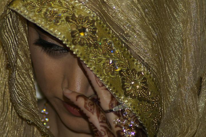 muslim woman wedding