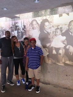 My family meets MLK's family