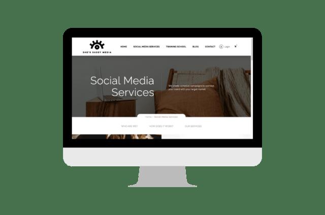 Untitled designShe's Sassy Media Social Media Management & Training School
