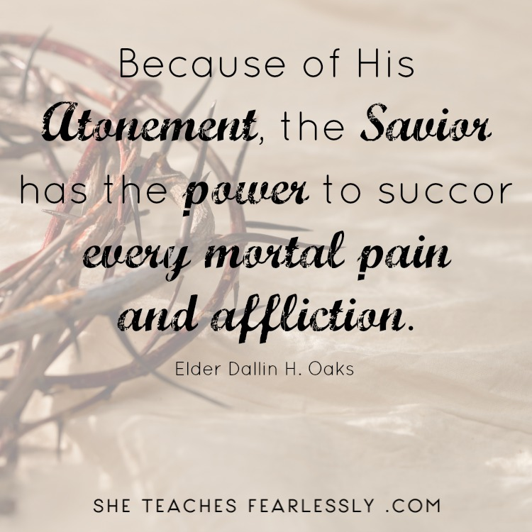 Strengthened By The Atonement