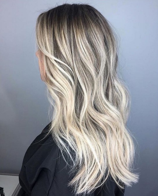 Blonde Balayage Hair Color Idea