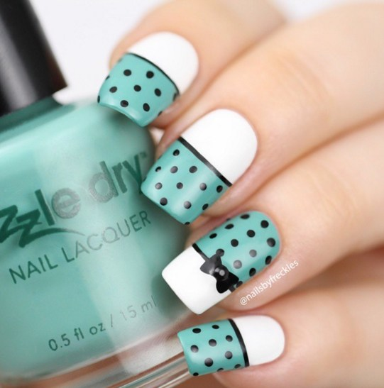 Gel Nail Designs and More: Simple Cute Nail Art