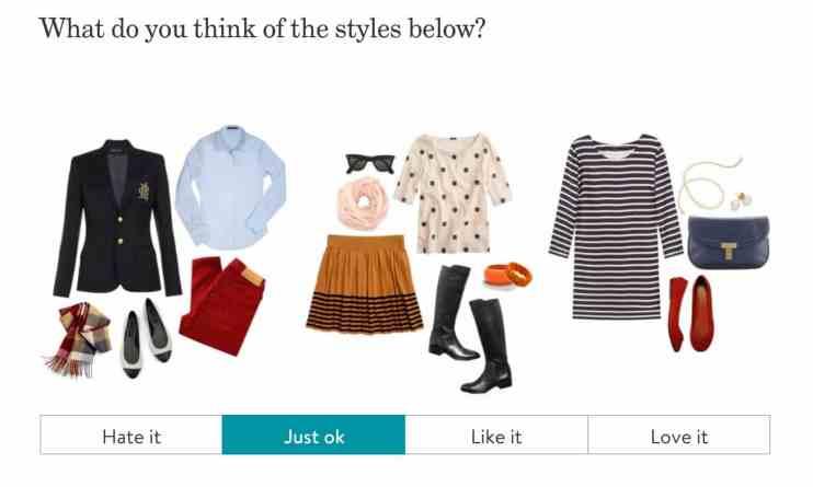 Stitch Fix Review Style Survey