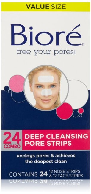 Best Pore Strips: Biore Deep Cleansing Pore Strips