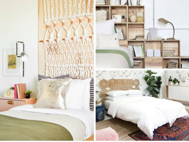 21 unique diy headboard ideas to transform your bedroom for Different headboards for beds