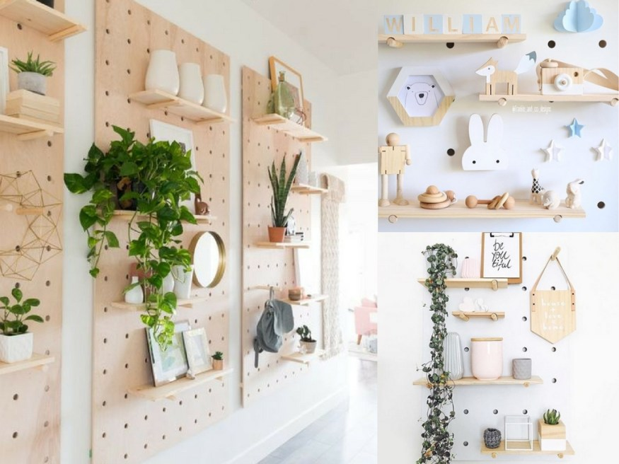 25 Pegboard Ideas to Organize Every Room in Your House