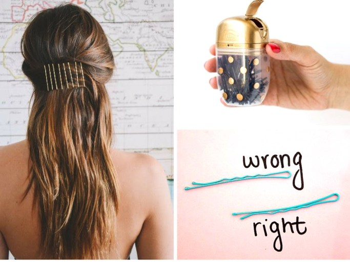 14 Genius Bobby Pin Hacks You'll Wish You'd Thought Of