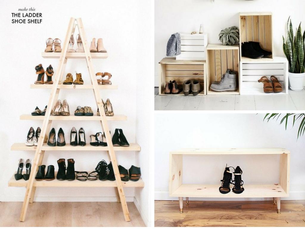 17 Shoe Storage Ideas To Organize