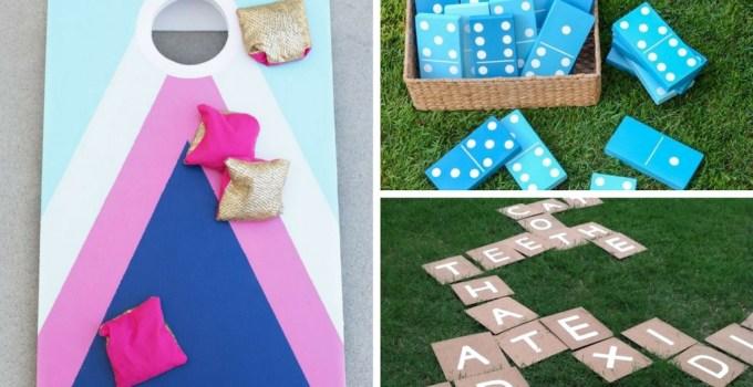 15 DIY Backyard Games for the Best Summer Ever