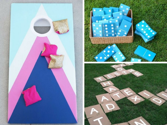 15 DIY Backyard Games for the Best Summer Ever