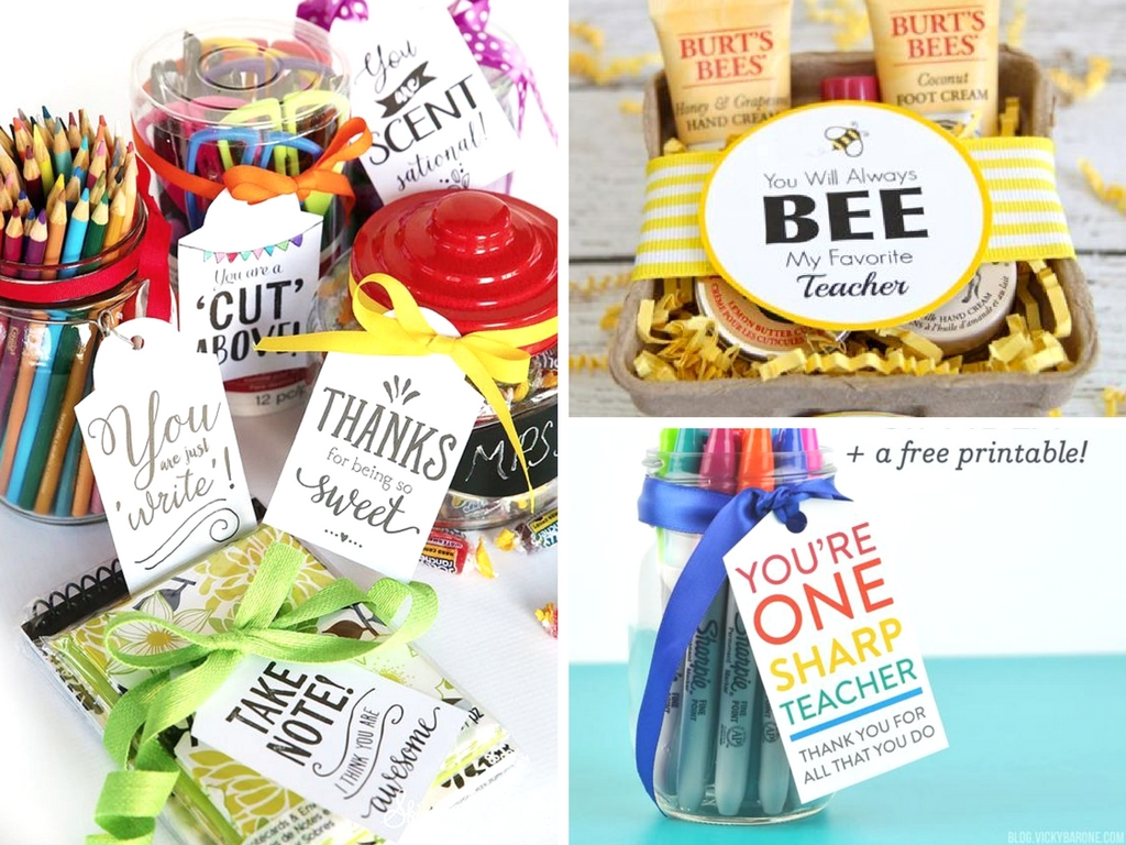 picture regarding Free Printable Teacher Appreciation Gift Tags named 11 Trainer Appreciation Reward Recommendations for the Finish of College