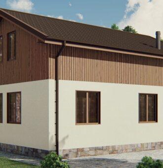 Строительство каркасного дома по проекту Миссисипи K021
