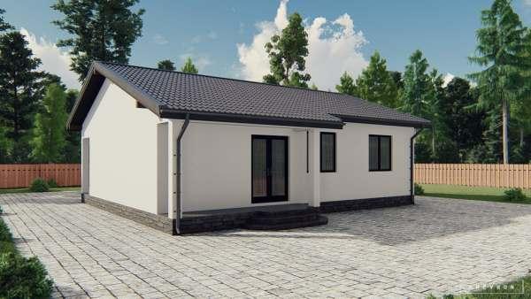 K029 — каркасный дом, проект Фармингтон