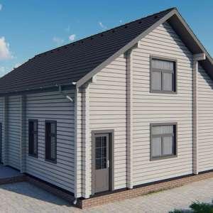 Строительство деревянный дом из бруса сруб из дерева деревянный цена купить D013