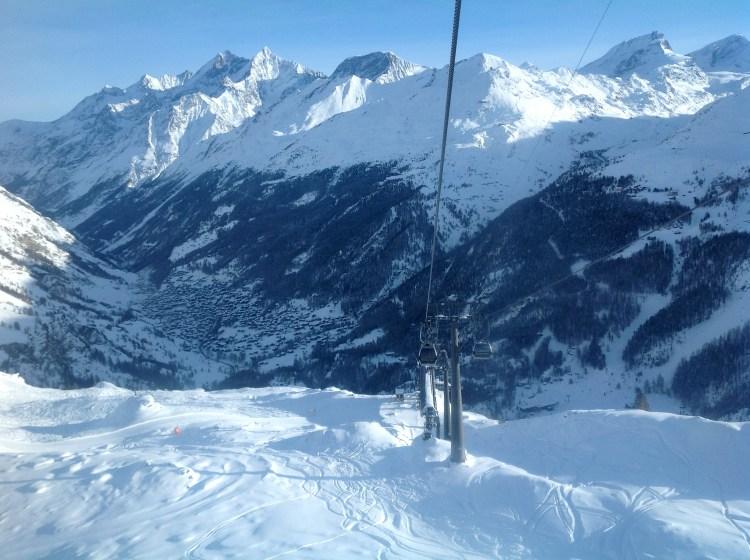 Cable Car to the Matterhorn Glacier Paradise