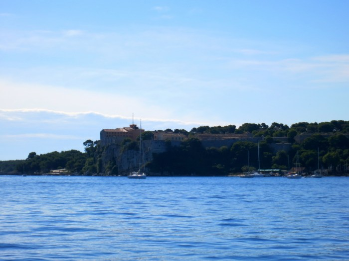 Boat Ride to Sainte Marguerite Island