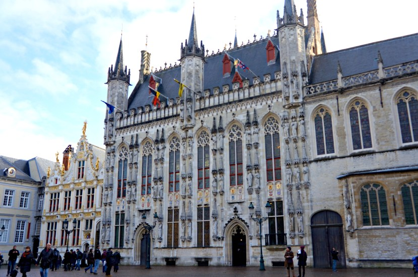 2728 161212 The Burg Square, Bruges