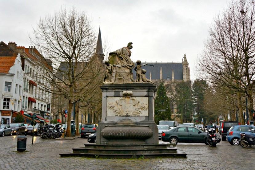3023 171212 Place du Grand Sablon Brussels
