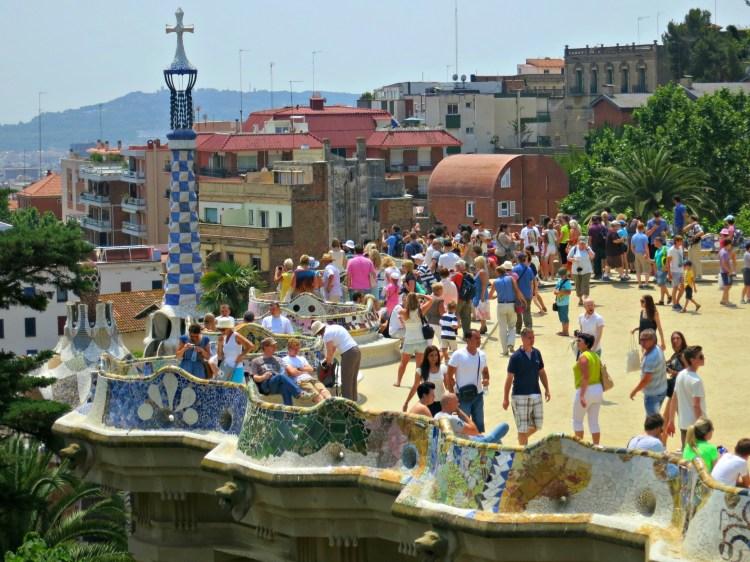 Park Güell - Mynn's Top 10 Things to See in Barcelona - www.shewalkstheworld.com