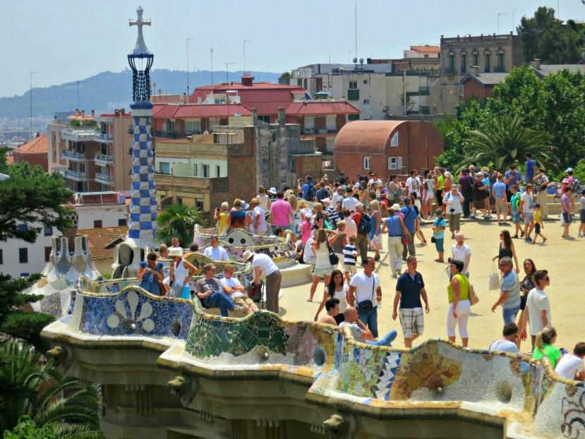 0711 270613 Antoni Gaudi's Park Güell