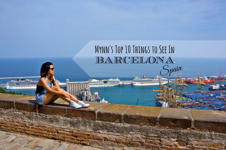Montjuïc - Mynn's Top 10 Things to See in Barcelona - www.shewalkstheworld.com