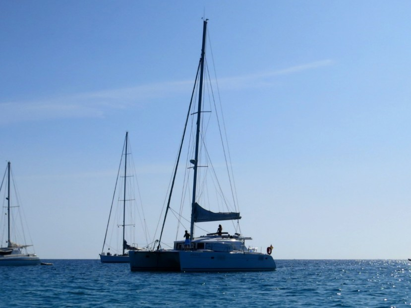 2149 300613 Docking at Formentera