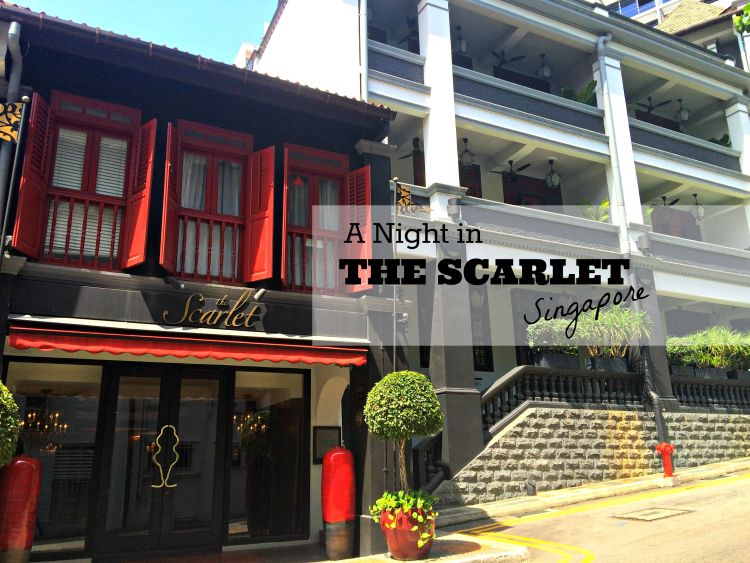 A Night in The Scarlet Singapore - www.shewalkstheworld.com