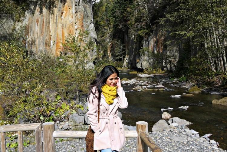 Hokkaido: Autumn Colors in Sounkyo at the Daisetsuzan National Park