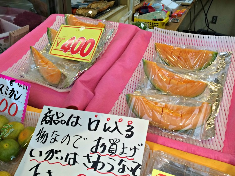 Yubari Melon - Mynn's Top 10 Food to Eat in Hokkaido - www.shewalkstheworld.com