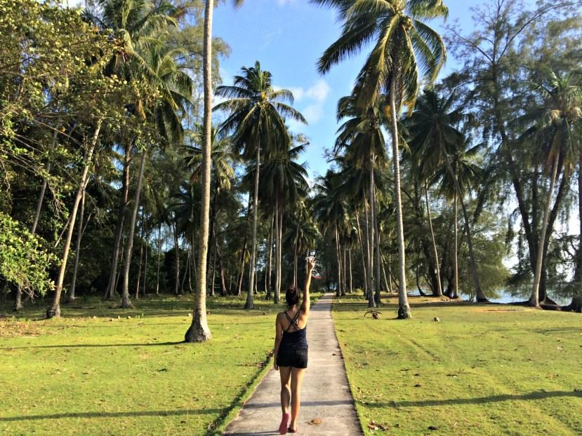 Touring Island