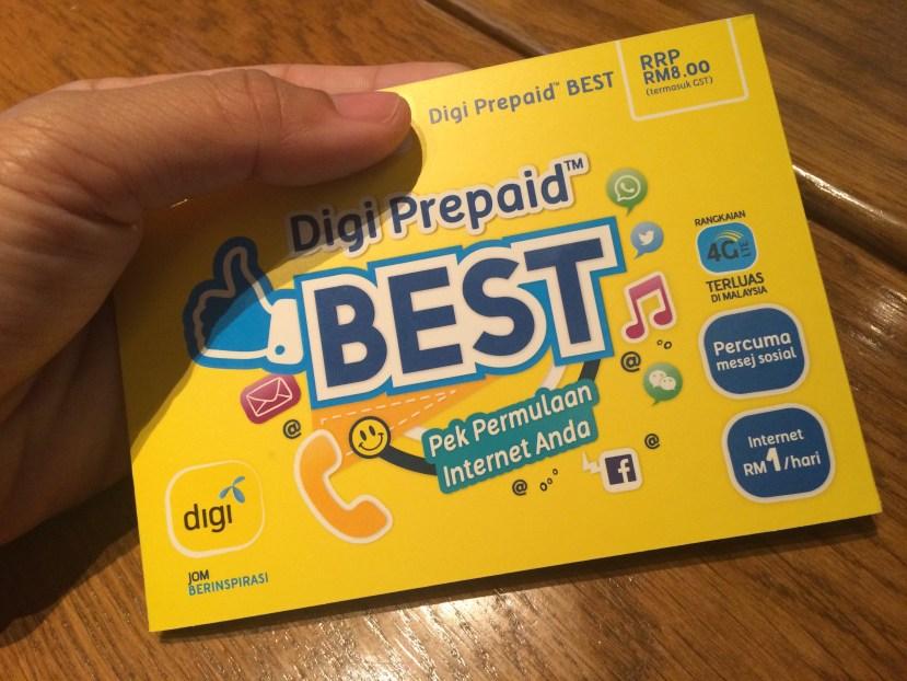 Digi Prepaid Pack