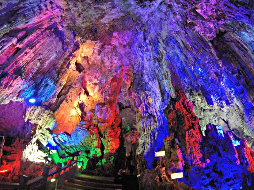 Silver Cave in Yangshuo, Guangxi, China.