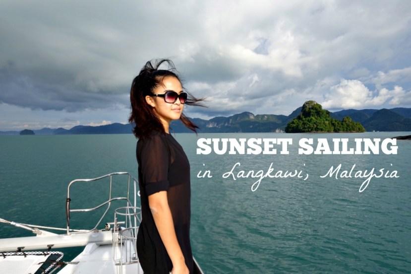 sunset cruise in langkawi, malaysia