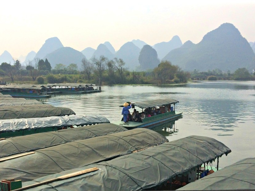 Shangri-la Park in Yangshuo, Guangxi, China