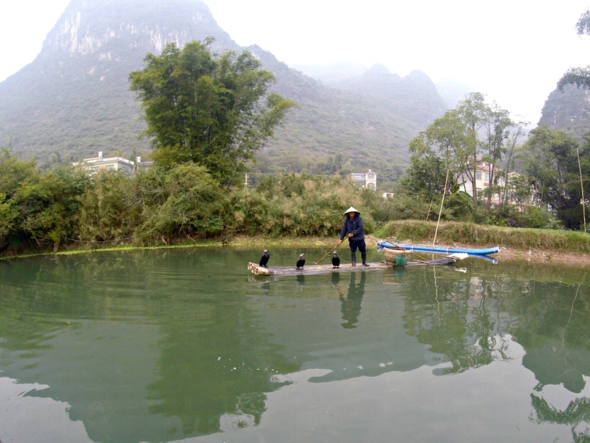 Yangshuo's Yulong River, Guangxi, China.