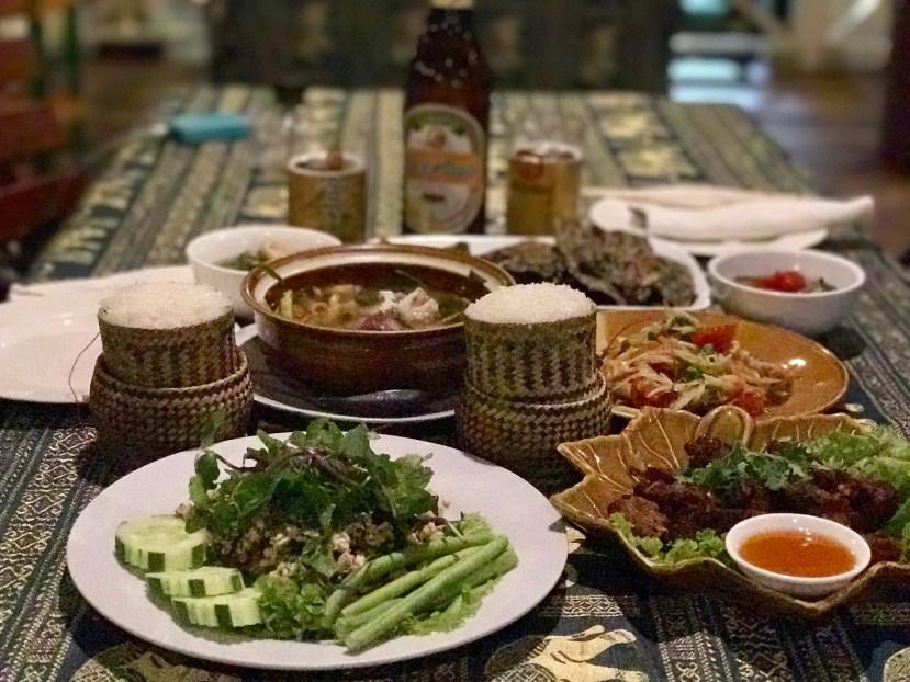Vientiane Food