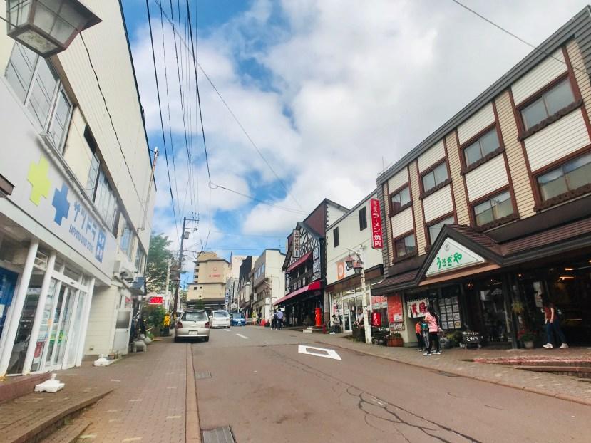 Hakuraku Shopping Street