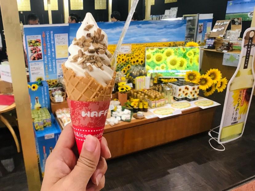 Sunflower Ice Cream